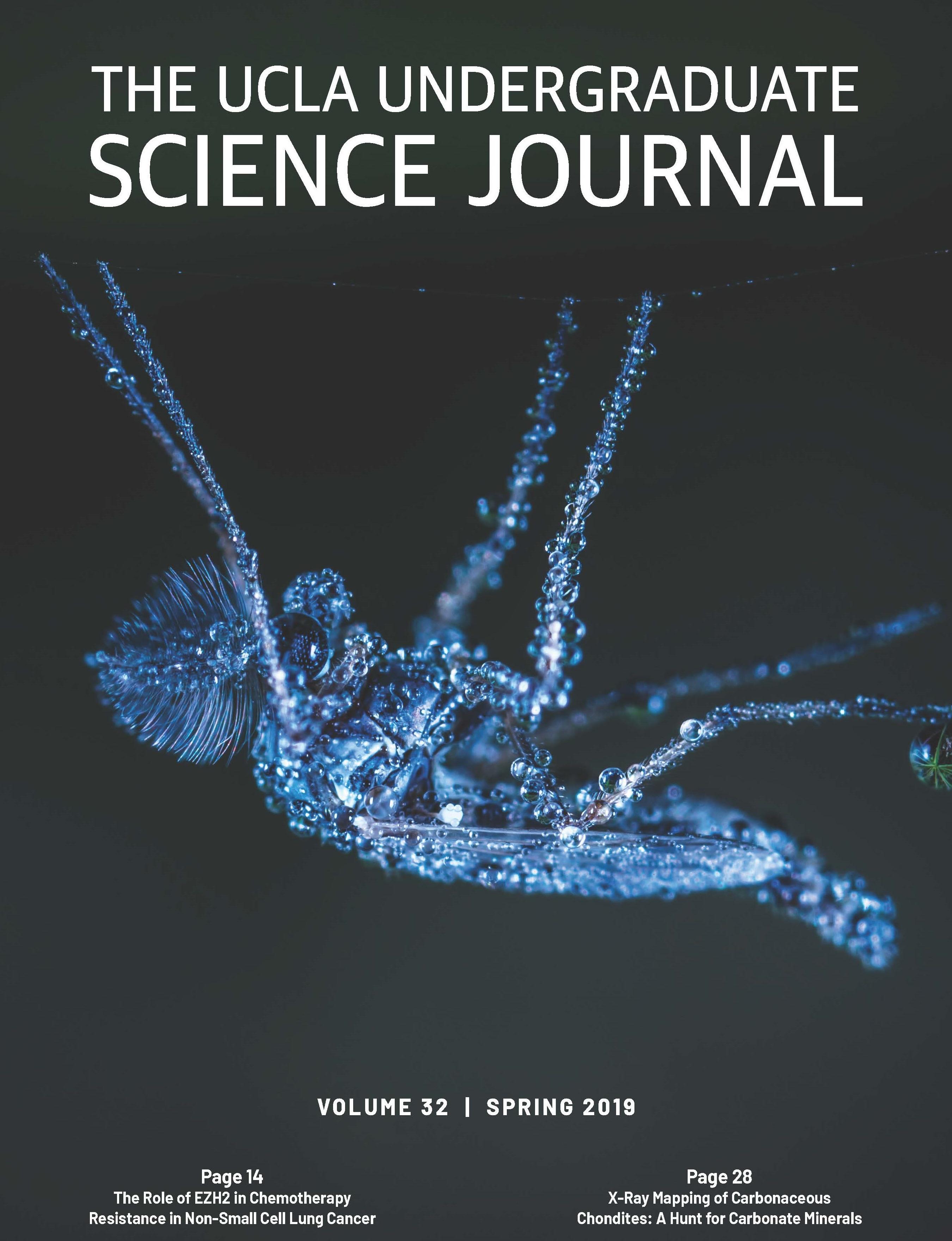 Cover of UCLA Undergraduate Science Journal